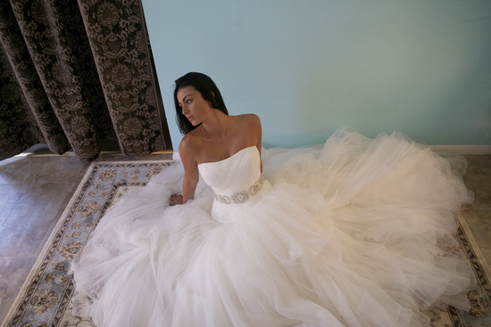 Strapless Wedding Ballgown